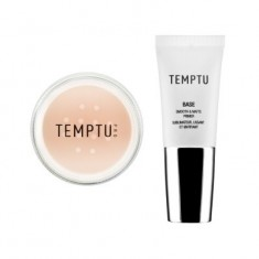 Temptu BASE Smooth & Matte Primer +  Invisible Difference Powder Set